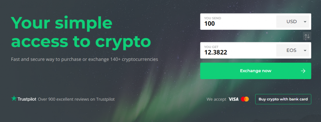 USD to EOS Changelly | Coinzodiac.com
