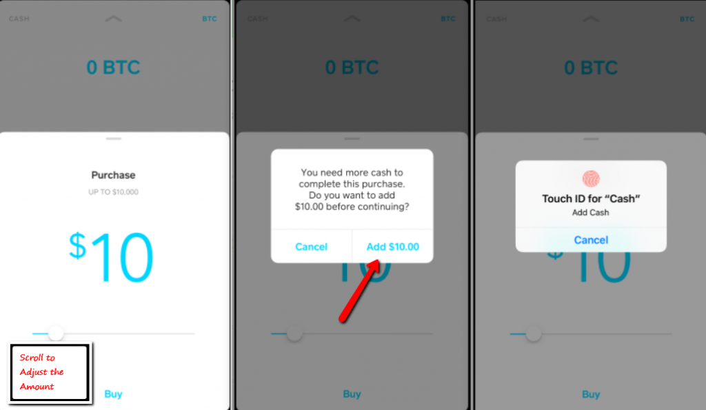 how do you sell bitcoin on cash app