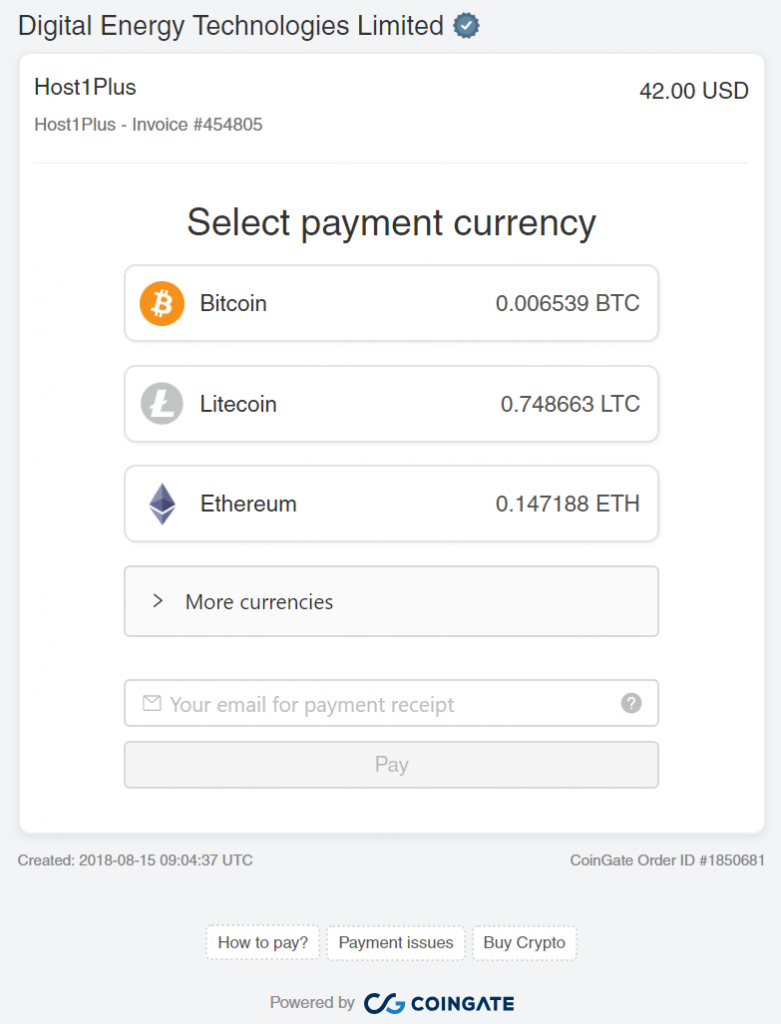6 Top Web Hosting Service that Accept Bitcoin and Altcoins