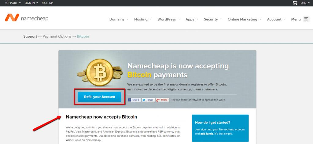 Buy Domain Via Bitcoin Coinbase Promo Code