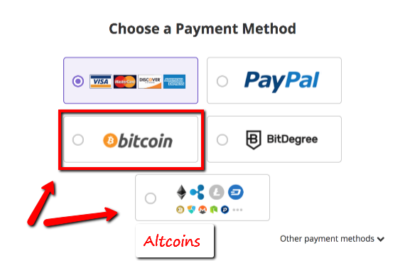 Pay Hosting in Bitcoin