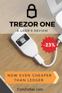 Trezor One Review: Bitcoin Hardware wallet. Coinzodiac