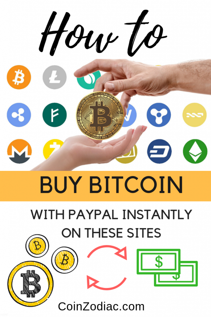 Buy Bitcoin With Paypal Instantly on these sites (Explained Step-by-step)