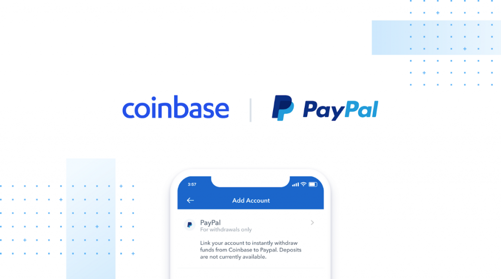 coinbase paypal collaboration