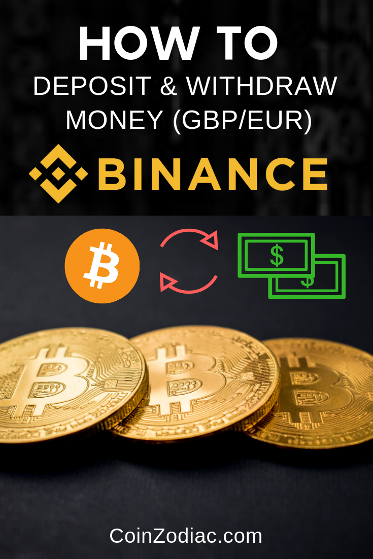 How To Deposit & Withdraw Money (GBP/EUR) on Binance?