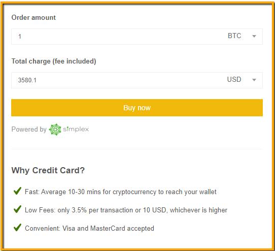 How do I Buy Bitcoin (BTC) on Binance w/ My Credit Card