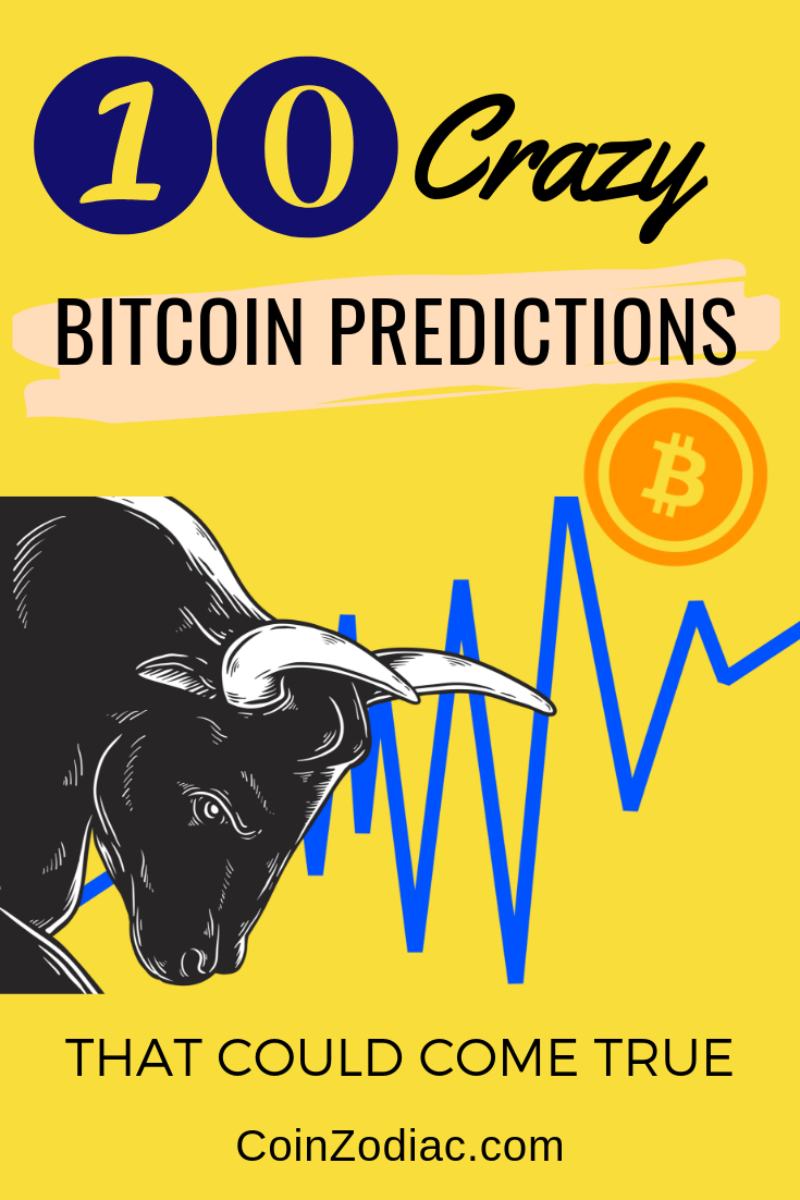 Top 10 Crazy Bitcoin (BTC) Predictions that Could Come True. Coinzodiac