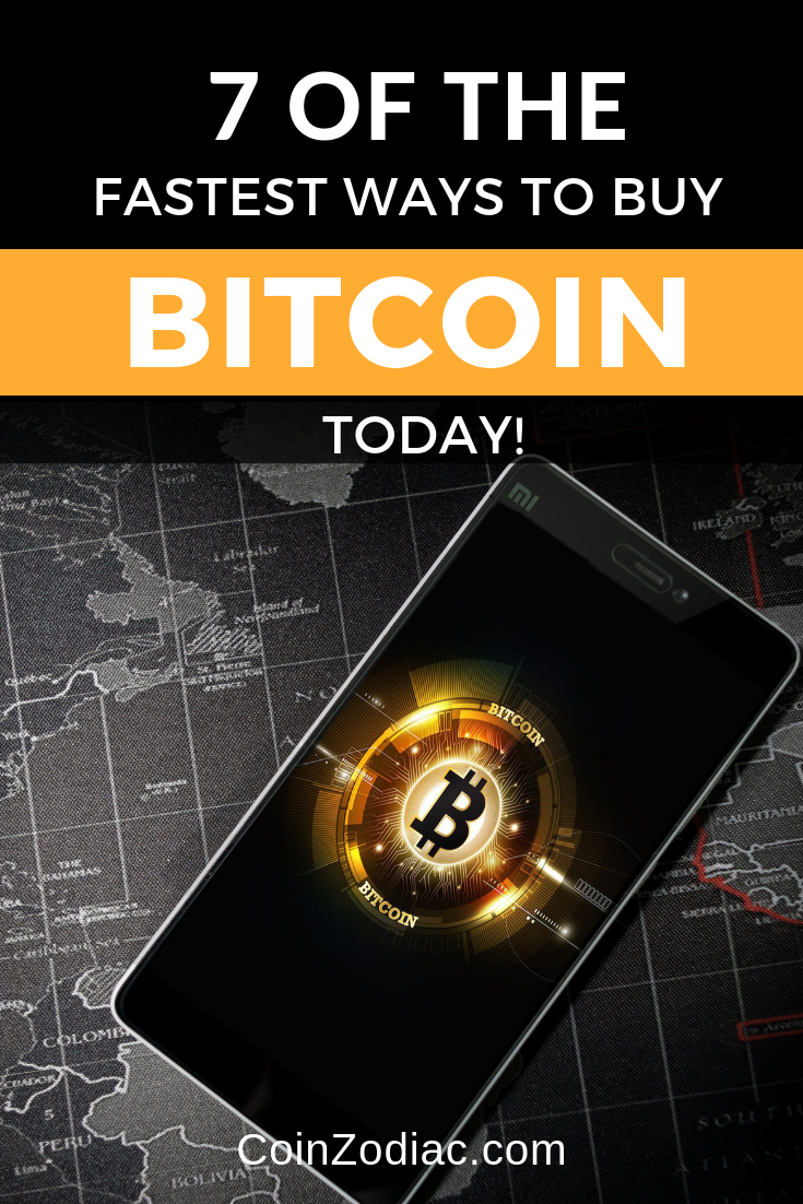 7 of the Fastest Ways to Buy Bitcoin (BTC) Today!
