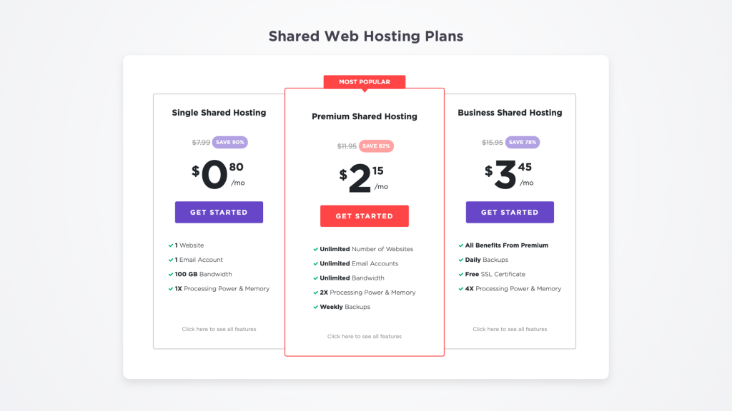 shared hosting plan you can pay with Bitcoin