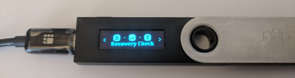 recovery check