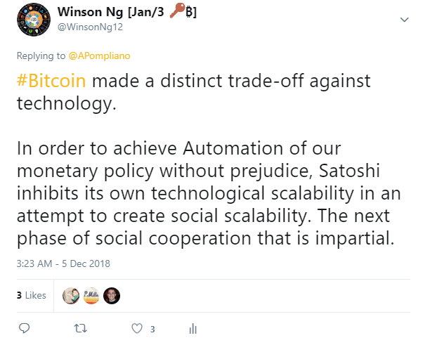 bitcoin trade-off