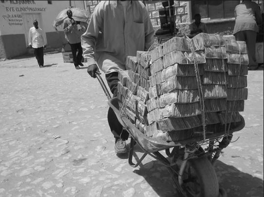 bucket load of cash
