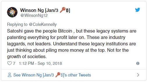 satoshi gave us bitcoin